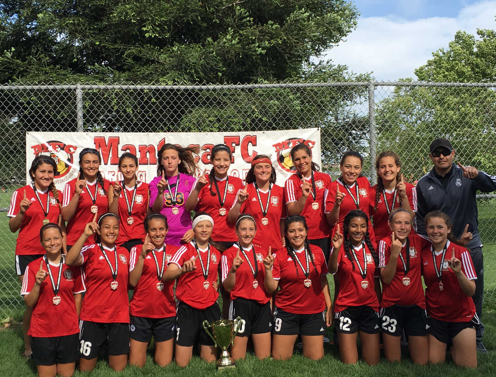 Congratulations are in order for MFC United for winning their second tournament in two weeks!